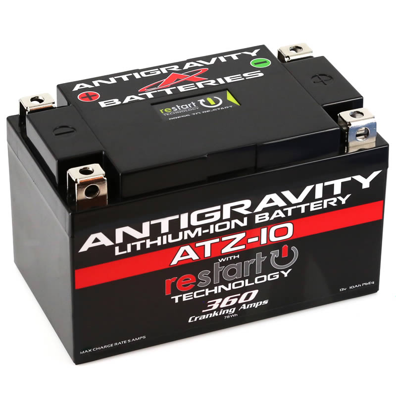 Antigravity ATZ-10-RS Lithium Motorsports Battery with RE-START