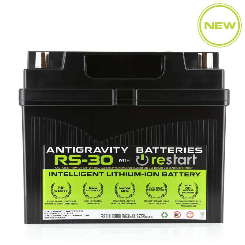 Lithium Car Battery >> Antigravity Rs 30 Restart Car Battery