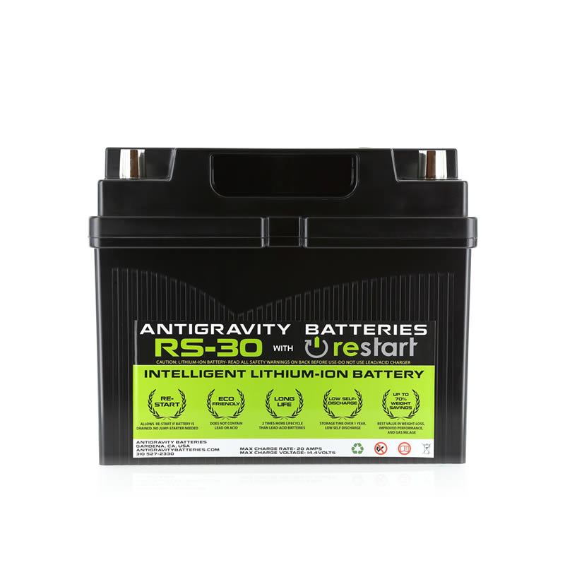Antigravity RS-30 RE-START Lithium Car Battery