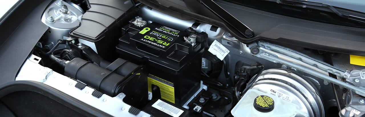 RS30 Re-Start Lightweight Lithium Battery