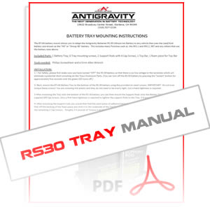 AG-RS30 Mounting Kit BT-H6 Instruction Manual