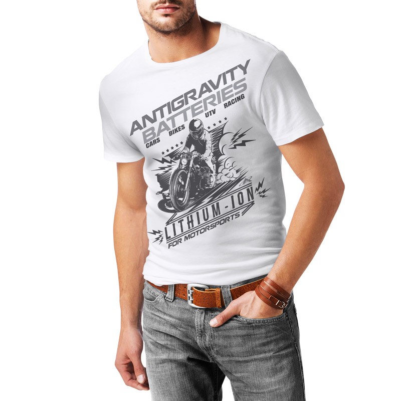 Antigravity Batteries Moto T-Shirt