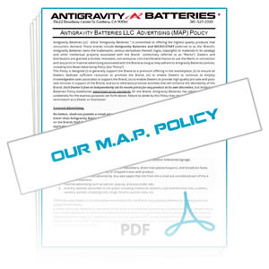 Download Reseller MAP Policy for Antigravity Batteries
