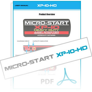 XP-10-HD Heavy Duty Micro-Start User Instruction Manual