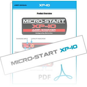 XP-10 Micro-Start User Instruction Manual