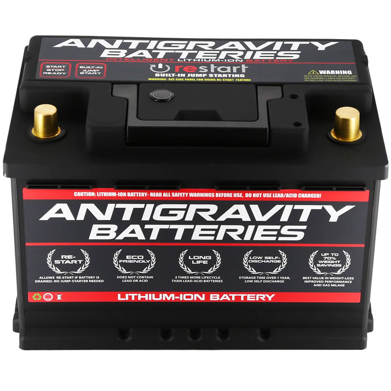 Antigravity H6/Group-48 Lightweight Lithium-Ion Auto Battery