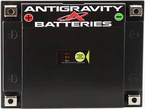 4 Terminal Motorcycle Battery, Antigravity ATX30-HD