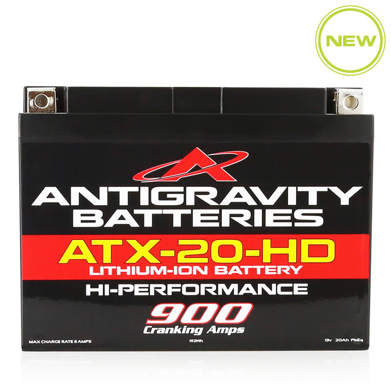 ATX20-HD Heavy Duty Lithium Battery by Antigravity, front view