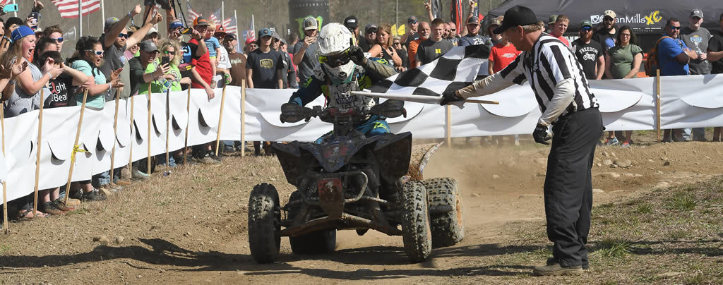 Walker Fowler Wins GNCC Rd3, Antigravity-Sponsored ATV Rider