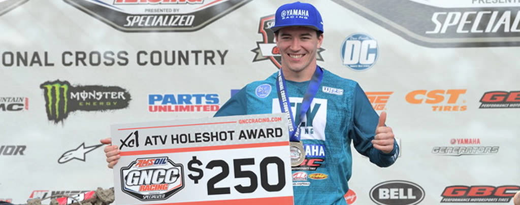 Walker Fowler Wins GNCC Rd4 Holeshot Award and Finishes 2nd
