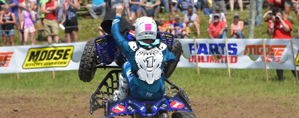 Walker Fowler, GNCC Rd6, Antigravity-Sponsored ATV Rider