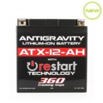 ATX12-AH Re-Start Battery by Antigravity, front view
