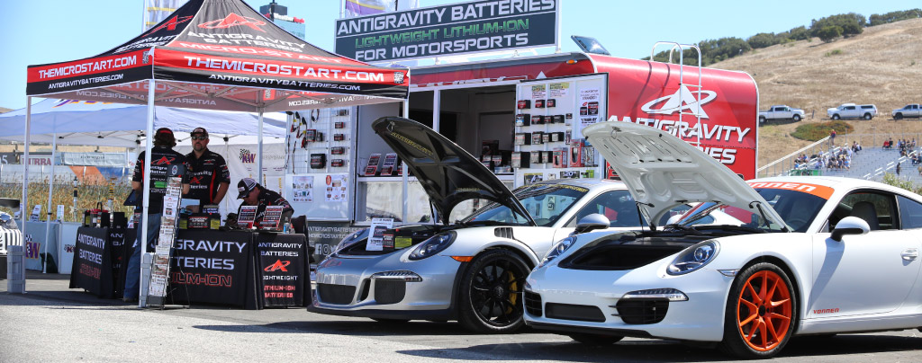Monterey Motorsports Reunion, Antigravity Batteries, 2019