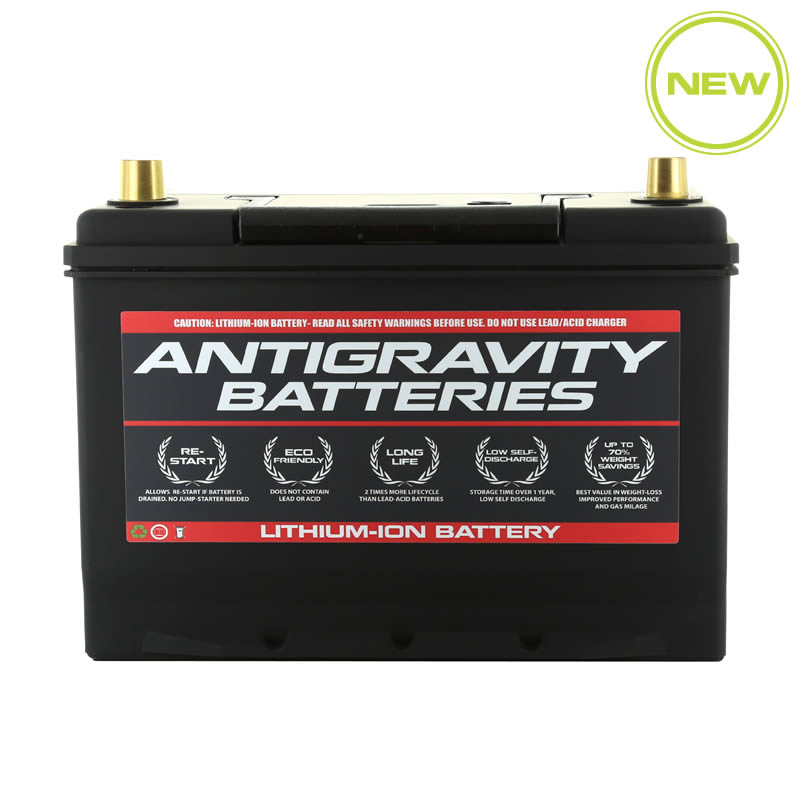 Lithium Ion Car Battery >> Antigravity Group 27 Car Battery