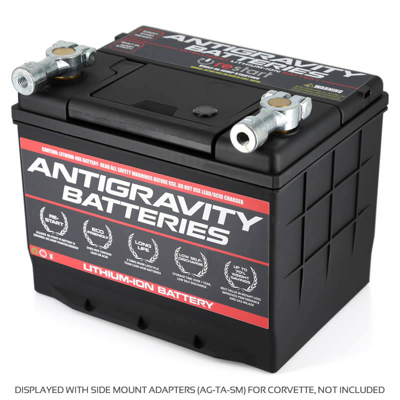 Antigravity Group-75 with Side Terminal Adapters (Not included)