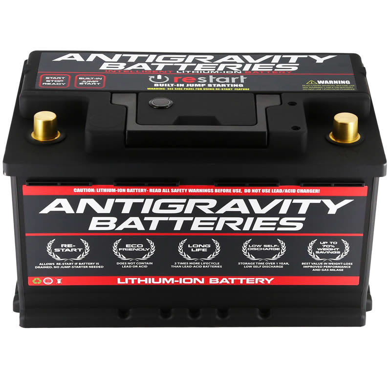 Antigravity H8/Group-49 Lightweight Lithium-Ion Auto Battery