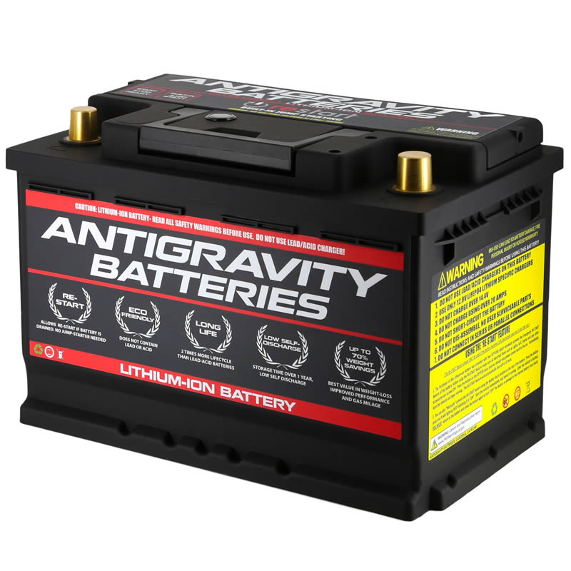 Lithium Ion Car Battery >> Antigravity T6 L2 Car Battery