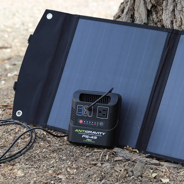 Antigravity PS-45 Power Station, Solar Rechargeable