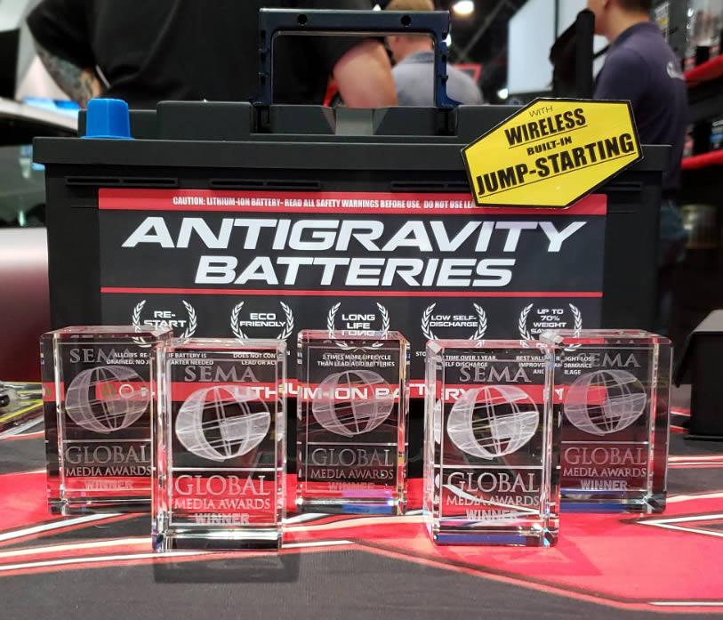 SEMA 2019 Antigravity Batteries Global Media Awards