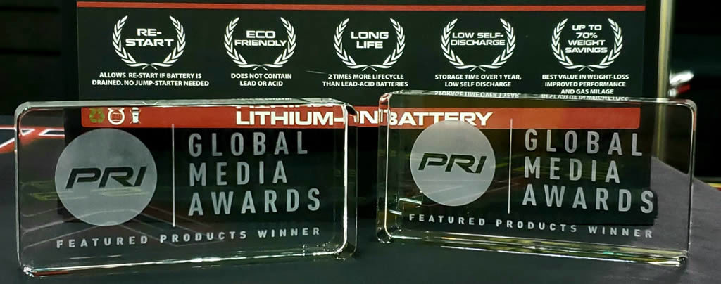 Antigravity Batteries PRI Show 2019 Global Media Awards Winner