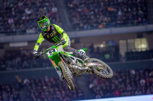 Cianciarulo Takes 2nd Place at Anaheim 2, 450SX Heat Race