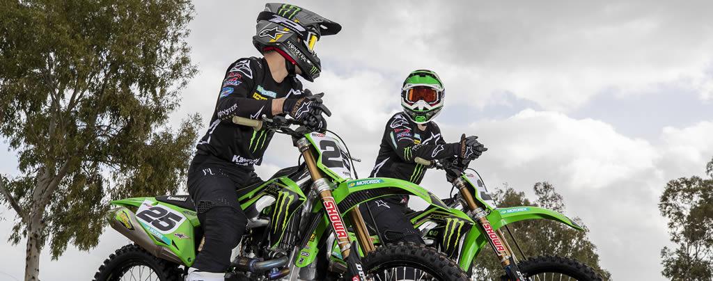 Monster Kawasaki MXGP & Antigravity Batteries 2020